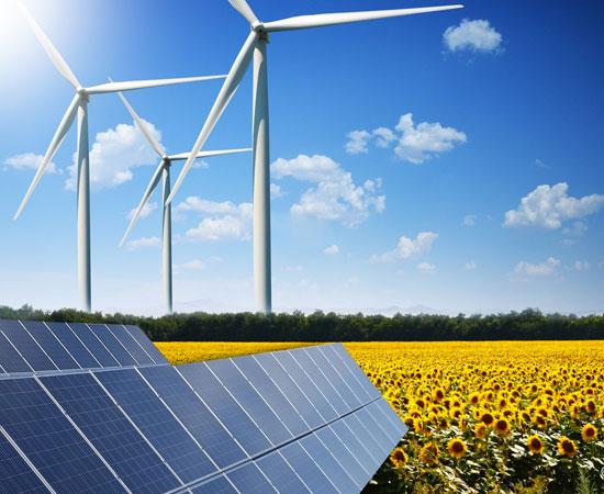 Energy marketand renewable industry